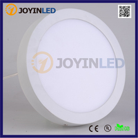 Free shipping No Cut ceiling 6w 12w 18w Surface mounted Round led panel light for home