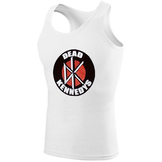 c3d8fc09e0b56 DEAD KENNEDYS Punk Rock Tank Top Men Fitness Fairy Tail Guild Symbol Boy  Singlet DC Comics Batman Nightwing bodybuilding Clothes
