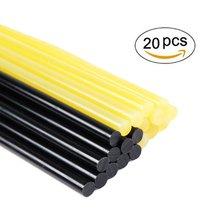 Клеевые палочки 20 шт. термоклеевые палочки безболезненный инструмент для ремонта вмятин для ремонта автомобиля набор инструментов для удаления вмятин желтый и черный