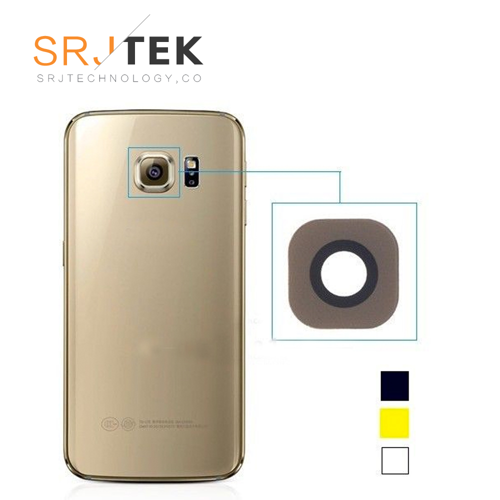 OEM Rear Camera Lens Glass Replacement For Samsung Galaxy S6 Edge G925 (Glass Only) - Gold/grey/white