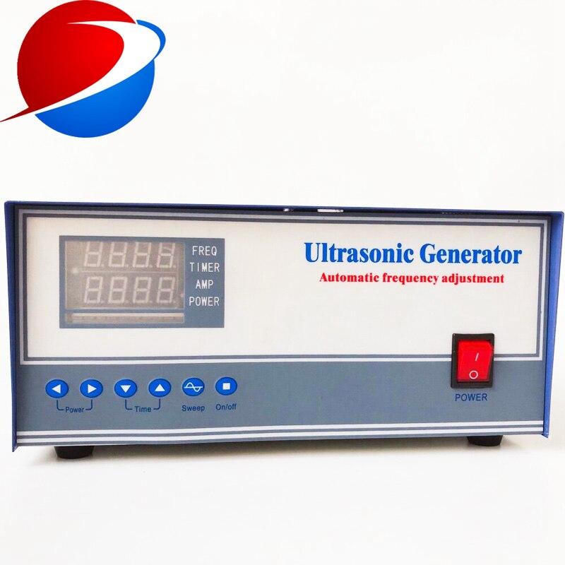 1200 W professionelle ultraschall reiniger generator 20 khz für reinigung tank mit CE - 3