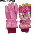 WENDYWU Children's Gloves Winter Warm Princess Aisha, Iron Man Glove Ski Waterproof Cold Youth Gloves children thickening