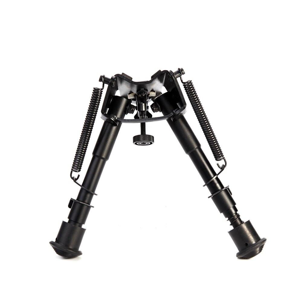 DREAMY 6 ANT-9 Polegadas Montar Escopo Tactical Rifle Bipé Retorno por Mola Ajustável com Adaptador Acessórios Riflescope Monte