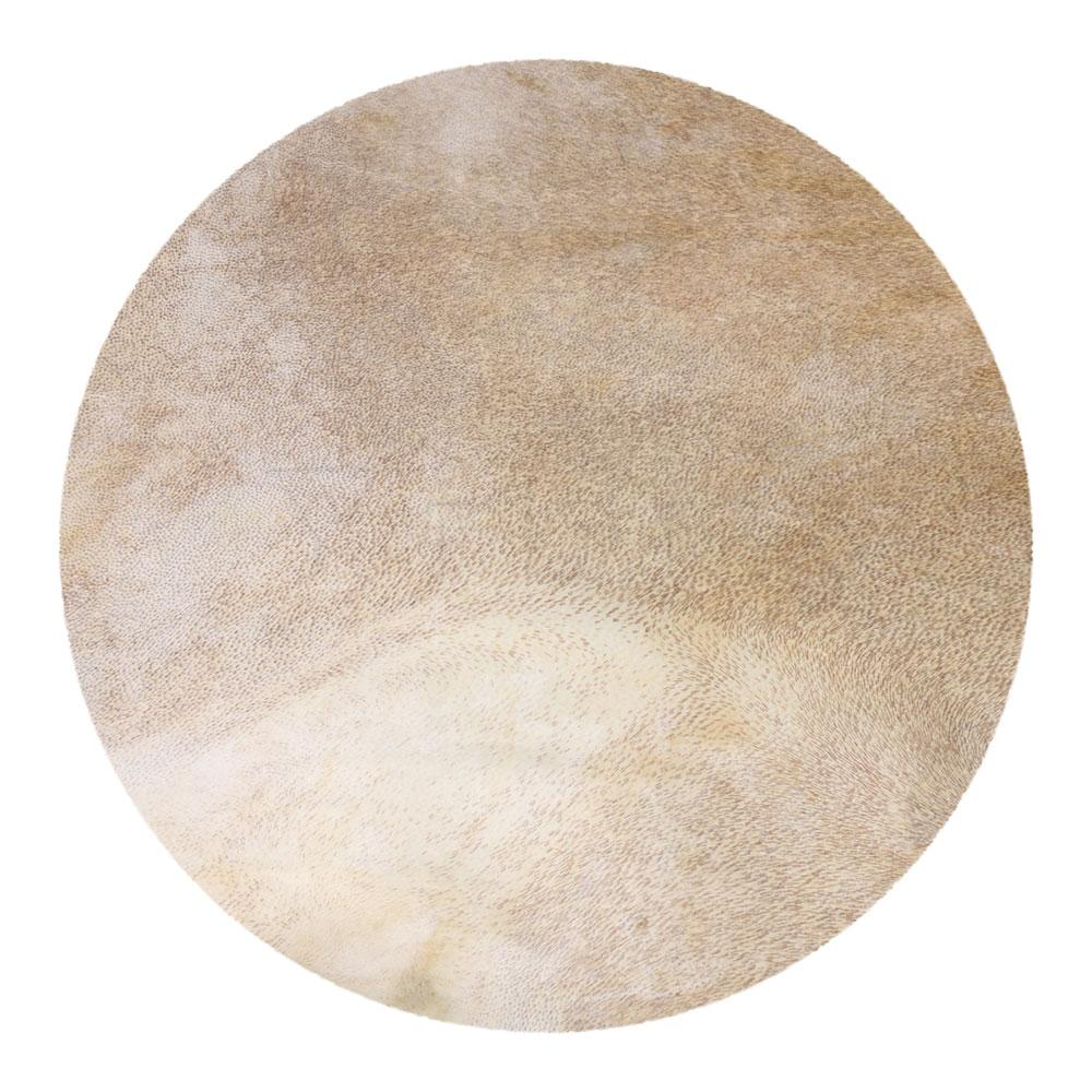 Yibuy 40cm Diameter Light Yellow Goat Skin Drums Head Goatskin Material For 12 Inches African Tambourine Drums Surface