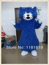 MASCOT Brushy Blue Cat mascot costume custom fancy costume anime cosplay mascotte fancy dress carnival costume