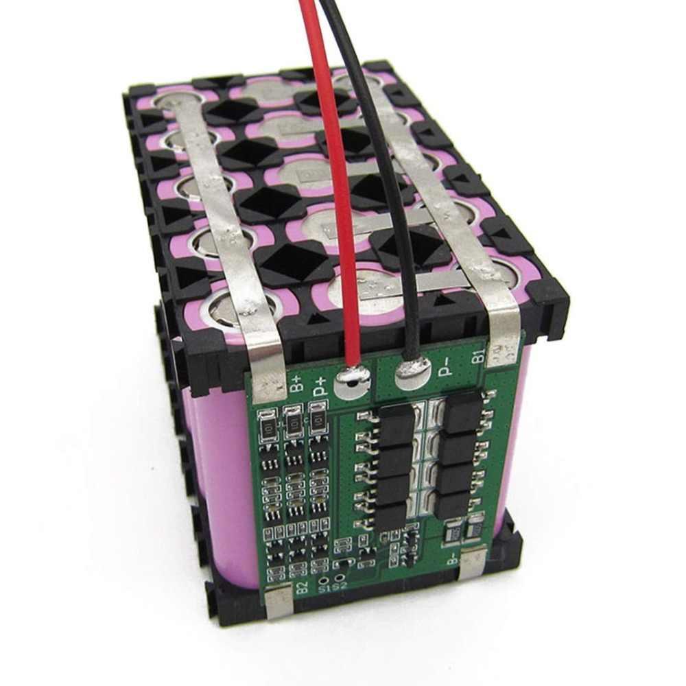 Panneau de protection de batterie au lithium 3 S 40A BMS 11.1 V 12.6 V 18650 avec Version améliorée/équilibrée pour le kit de bricolage de courant perceuse 40A