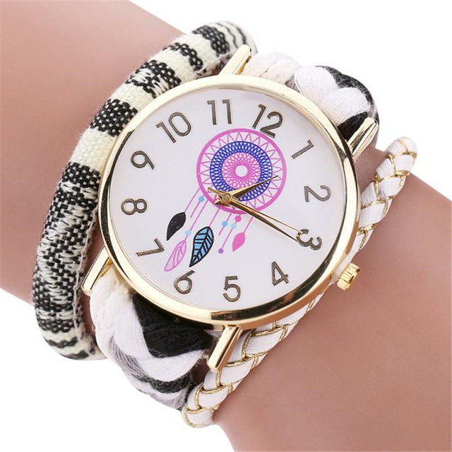2016 Fashion Women Bracelets Watches Ladies Decorative Women Watch The Sleek Sty