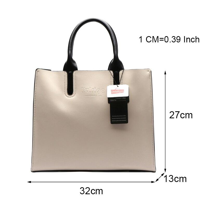 Image 5 - BVLRIGA Luxury Handbags Women Bags Designer Famous Brands Genuine  Leather Bag Female Crossbody Messenger Shoulder Bag Tote Baggenuine  leather bagbrand tote bagdesigner tote bag