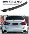 HLONGQT спойлер из углеродного волокна для BMW X5 F15 X5M 2014.2015.2016.2017 Высокое качество заднего крыла спойлеров автомобильные аксессуары