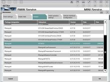 2018.03 para BMW ICOM Rheingold ISTA/D ISTA/P Software Expert Mode com Multi-linguagem de dados Completo em 500 gb HDD Caber na maioria dos Laptop