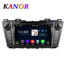 KANOR 1024 600 Android 5 1 Quad Core 1Ghz Car DVD For MAZDA 5 Premacy 2009