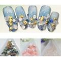 12 Colors Colorful 3D DIY Nail Decoration Natural Stone Manicure Nail Art Decoration Accessories