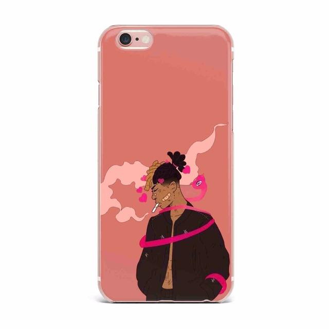 Xxxtentacion TPU Ultrathin silicon Soft Cover Case For iPhone 6 6S Plus 5 5S SE 7 7 Plus 8 8Plus X Phone Back Cover Clear Fundas