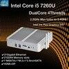 KabyLake Mini PC sin ventilador, Intel Core i5 7260U 3,4 GHz, puerto óptico 2 * lan, Intel Iris Plus Graphics 640 DDR4 ordenador Barebone