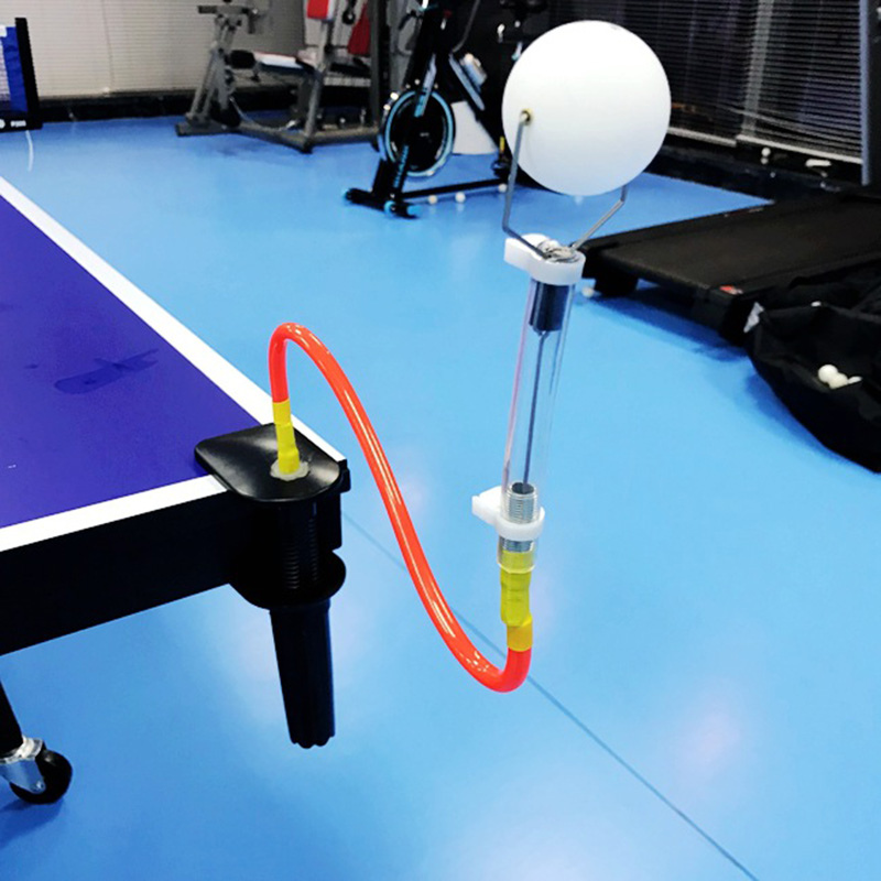 Table Tennis Robot Professional Portable Ping Pong Ball Machine Adjustable Padel Rackets Training Accessories Tactical Exerciser
