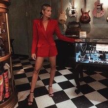Blazer longo estiloso feminino, casaco jaqueta de estilista para mulheres, gola de cetim 2020, alta qualidade