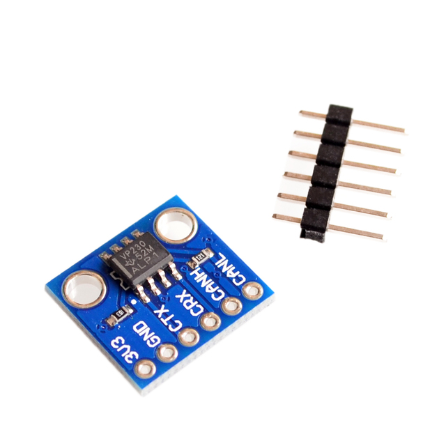 SN65HVD230 CAN bus transceiver communication module for