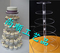 Free Shipping 6 tier High Quality OEM and ODM acrylic Cake pop Stand,acrylic cupcake stands wholesale