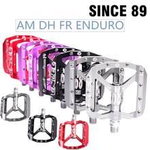 Ultraleicht fahrrad pedal alle CNC mtb DH XC mountainbike pedal L7U Material + DU Lager Aluminium Pedale