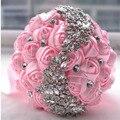 Великолепный кристалл Свадебный Букет Брошь букет свадебные аксессуары Невесты искусственный Свадебные цветы Свадебные Букеты 1
