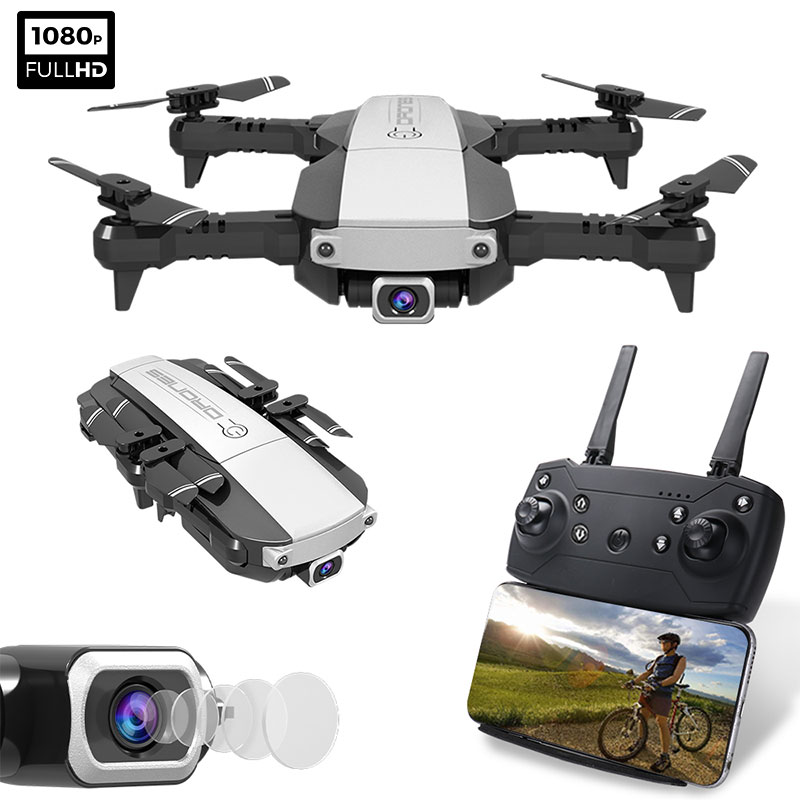 NEW LANSENXI-NVO RC Drone 4K 1080P Quadcopter 2 4GHz WiFi FPV Foldable mini drones Real-time Transmission camera dron Quadcopter