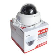 Hik 원래 버전 8mp ip 카메라 DS 2CD2185FWD I 네트워크 돔 카메라 h.265 sd 카드와 고해상도 cctv 카메라