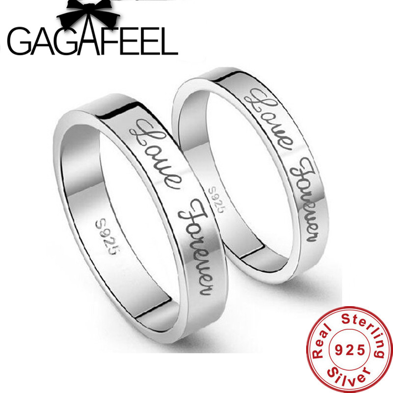 Genuine 100% Pure 925 Sterling Silver Ring New Arrival High Quality Beautiful Forever Lo ...
