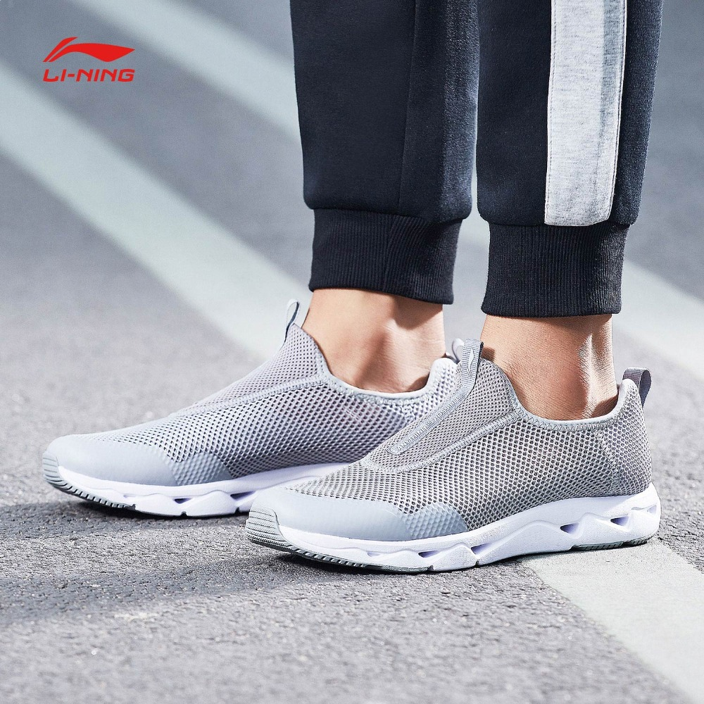Li-Ning Men LN UPSTREAM Aqua Shoes Classic Lifestyle Shoes Breathable Light Weight LiNing Sport Shoes Sneakers AGCN045 YXB158