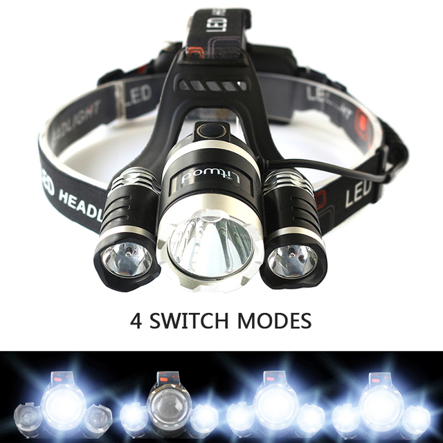 Powerful Rechargeable Head Flashlight (9000 Lumens)