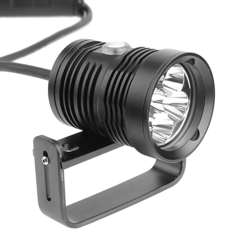 Professional 10800LM L2 LED IP68 Waterproof Diving Flashlight Underwater Photography Video Lamp Fill Light 150 Meters Depth 10w 500lm 150 led professional camera video fill light black