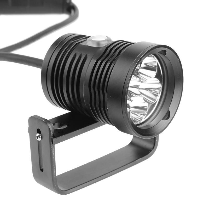 лучшая цена Professional 10800LM L2 LED IP68 Waterproof Diving Flashlight Underwater Photography Video Lamp Fill Light 150 Meters Depth