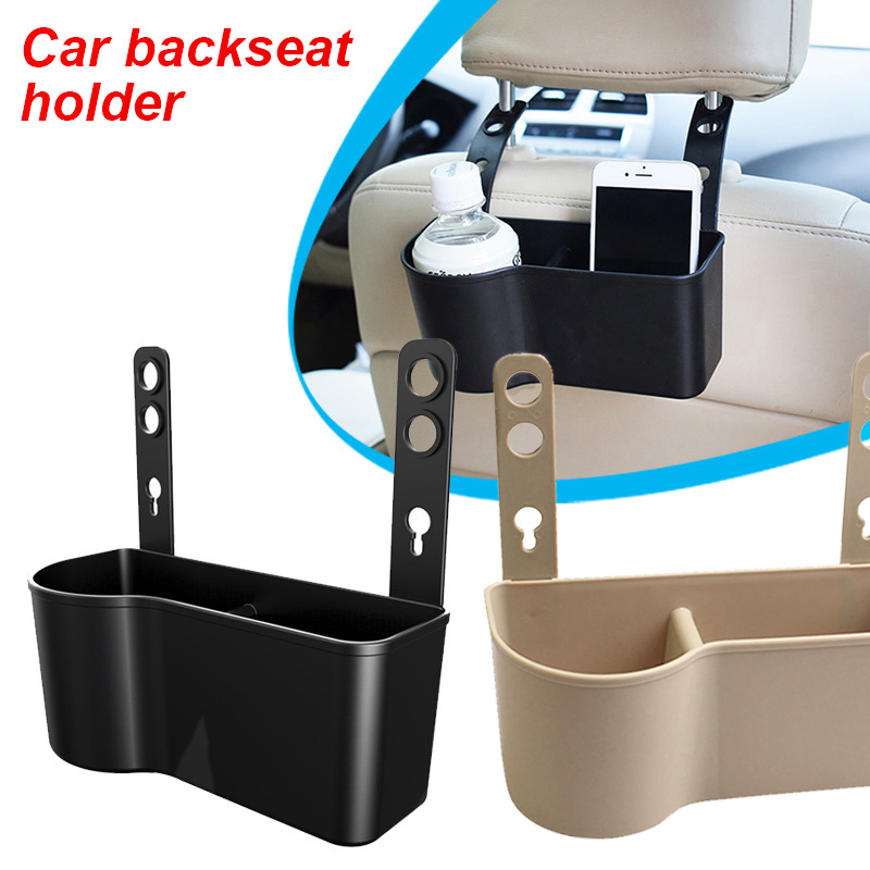 Active Do Promotion! Car Seat Headrest Cup Holder Drink & Food Pickup Storage Box For Cars Suv Fancy Colours