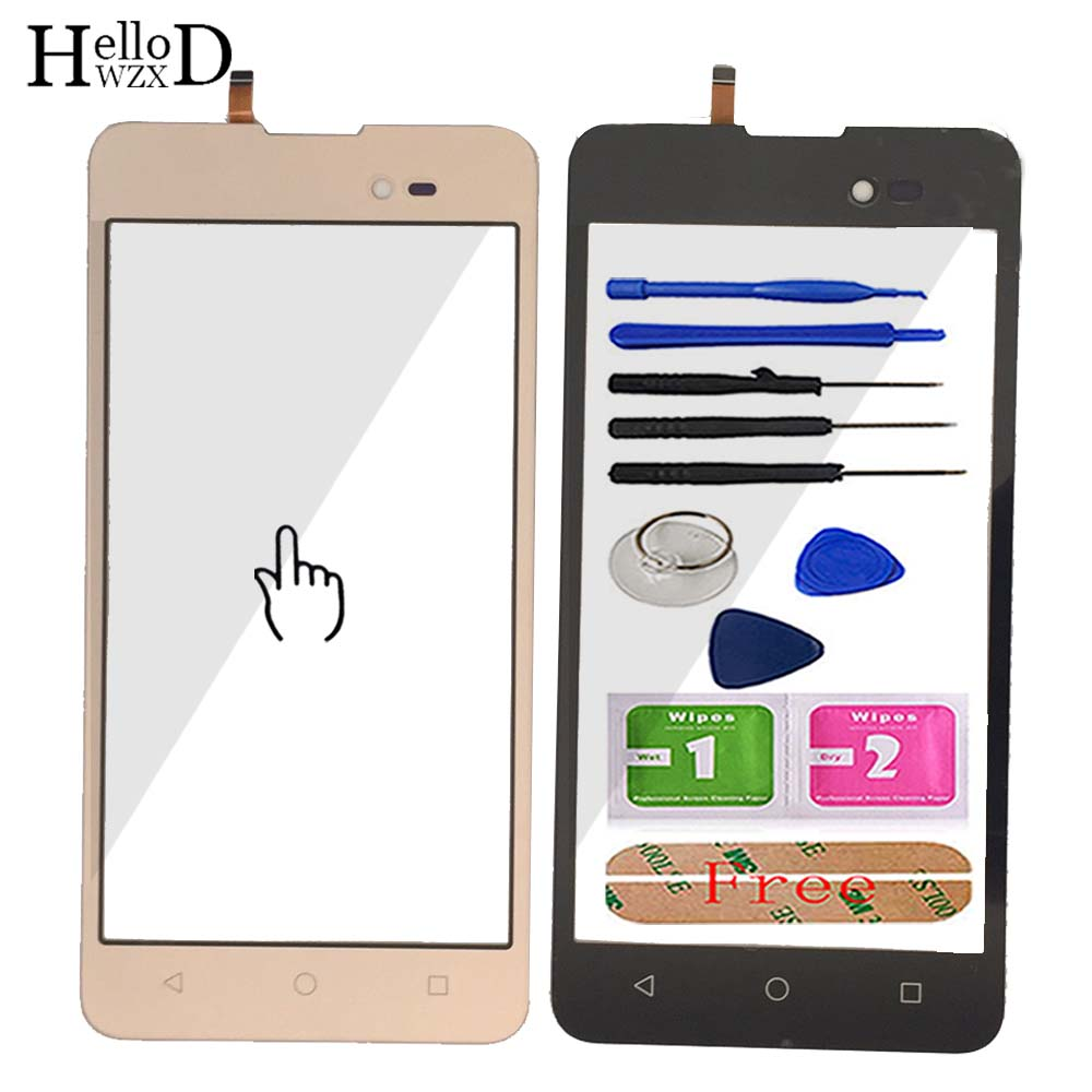 5.0'' Mobile Phone Touch Screen Glass For BQ BQ-5035 Velvet BQ 5035 BQS 5035 Touch Screen Glass Digitizer Panel Sensor Adhesive