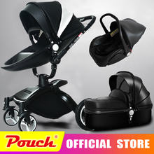 AULON Oyun Long baby trolley cortical bi-directional high-view shock absorber baby carriage can sit in the cart 3