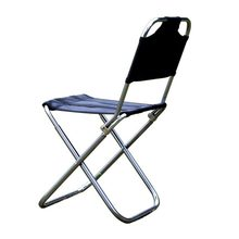 Outdoor Folding Chair 7075 Aluminum Alloy Fishing Camping Chair BBQ Stool Folding Stool Portable Travel Chair(China)