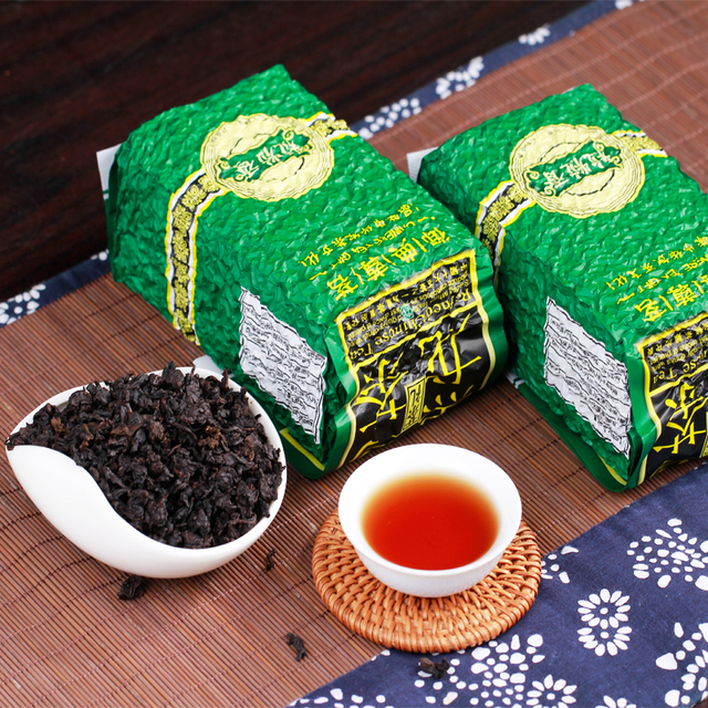 China Black Oolong Tieguanyin Tea Roasted Tea Green Food Lose Weight Whitening Slimming Beauty Organic Oolong Tea