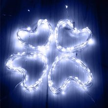 Waterproof Fairy Light Christmas Lights Outdoor Led Copper Wire String Light For Wedding Garland Party(China)