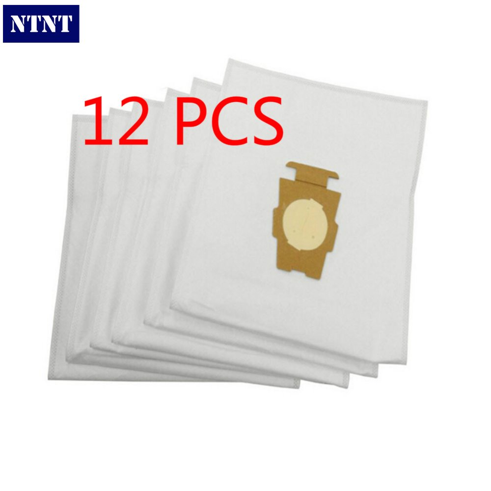NTNT 12 PCS For Kirby Universal Bag suitable for Kirby Universal Hepa Cloth Microfiber dust Bags For KIRBY Sentrial F/T 1 pcs for kirby sentrial f t dust bag for kirby universal bag suitable for kirby universal hepa cloth microfiber dust bags