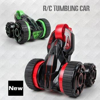 360-Spin 2-Side-Roll Deformation rc stunt car 88602 1:12 6ch Remote Control stunt  Racing Car deformation dump car