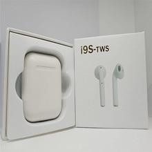 I9S TWS esporte Fone De Ouvido Sem Fio fone de Ouvido Bluetooth Portátil Invisible Earbud para O Iphone X 8 7 Plus Xiaomi Telefones celulares