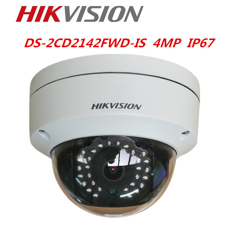 Hikvision DS-2CD2142FWD-IS 4MP WDR Fixed Dome IP Camera POE Audio/Alarm CCTV Camera Hikvision Dome Camera change up intermediate teachers pack 1 audio cd 1 cd rom test maker