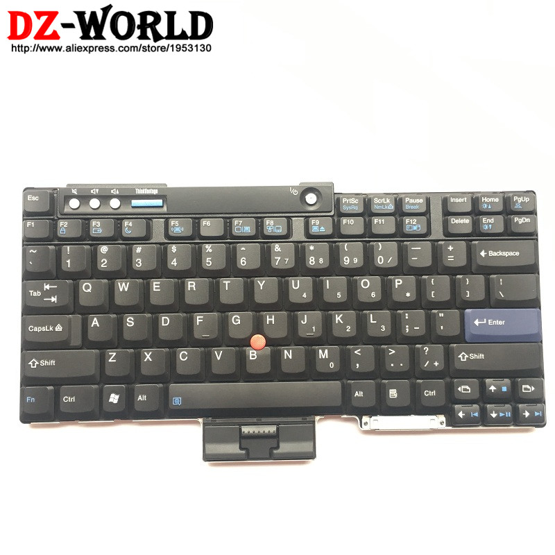 все цены на New Original US English Keyboard for Lenovo Thinkpad T60 T60P T61 T61P T400 T500 W500 Teclado 42T3273 42T3209 42T3143 42T3241 онлайн