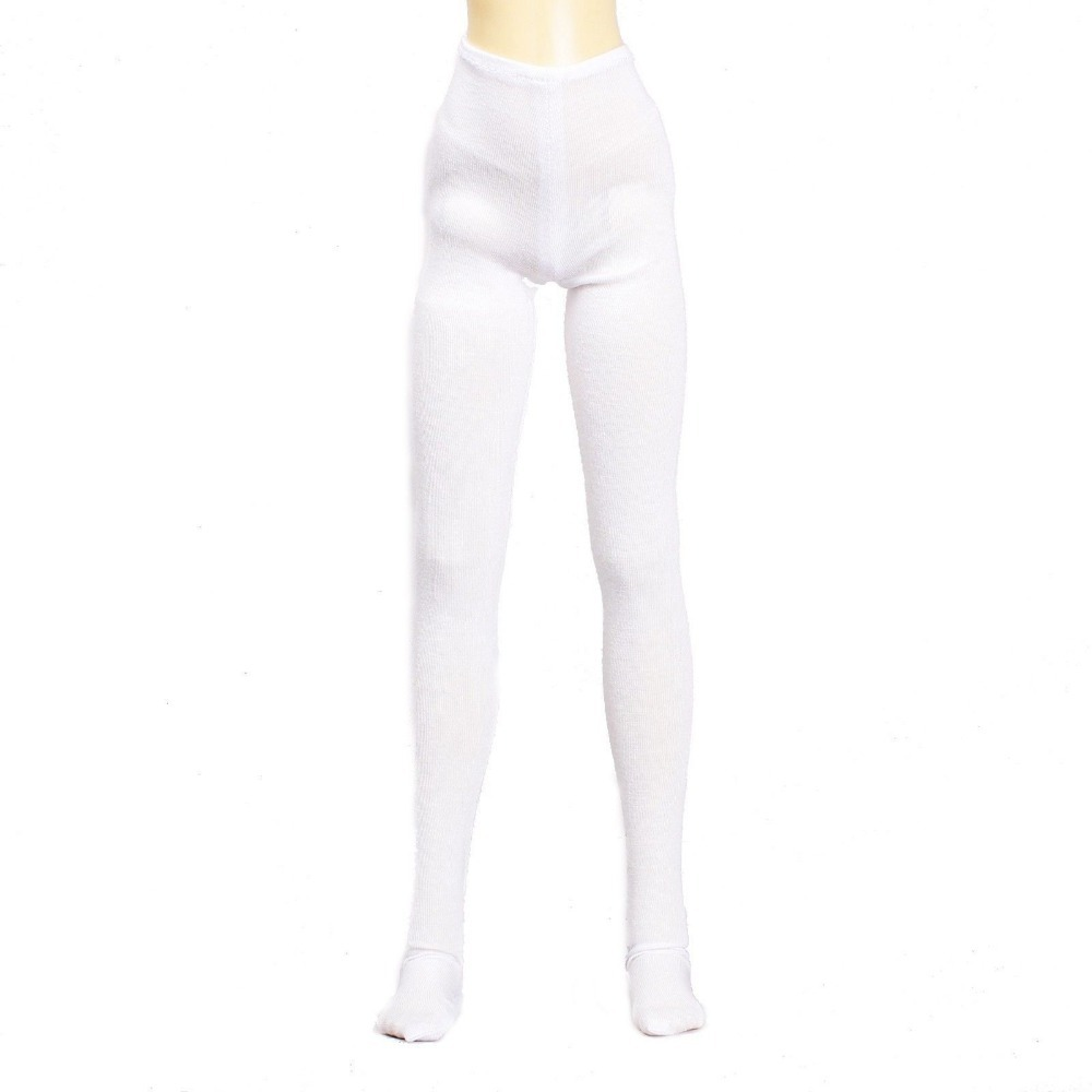 [wamami] 10# White Pants/Stockings/Clothes For MSD DOD AOD DZ 1/4 BJD Dollfie free match stockings for bjd 1 6 1 4 1 3 sd16 dd sd luts dz as dod doll clothes accessories sk1