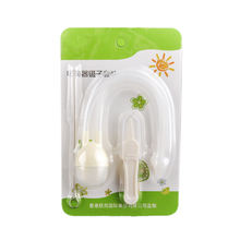 Infant Safe Nose Cleaner with Tweezers Cleaner Vacuum Suction Nasal Mucus Runny Aspirator Baby Kids Healthy Care Convenient
