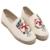 Mujeres Perezosos Zapatos Bordados Zapatos Planos Alpargatas de Mujer de Marca Otoño/Primavera Mujeres Resbalón En Zapatos de Las Mujeres Zapatos de Moda Casual