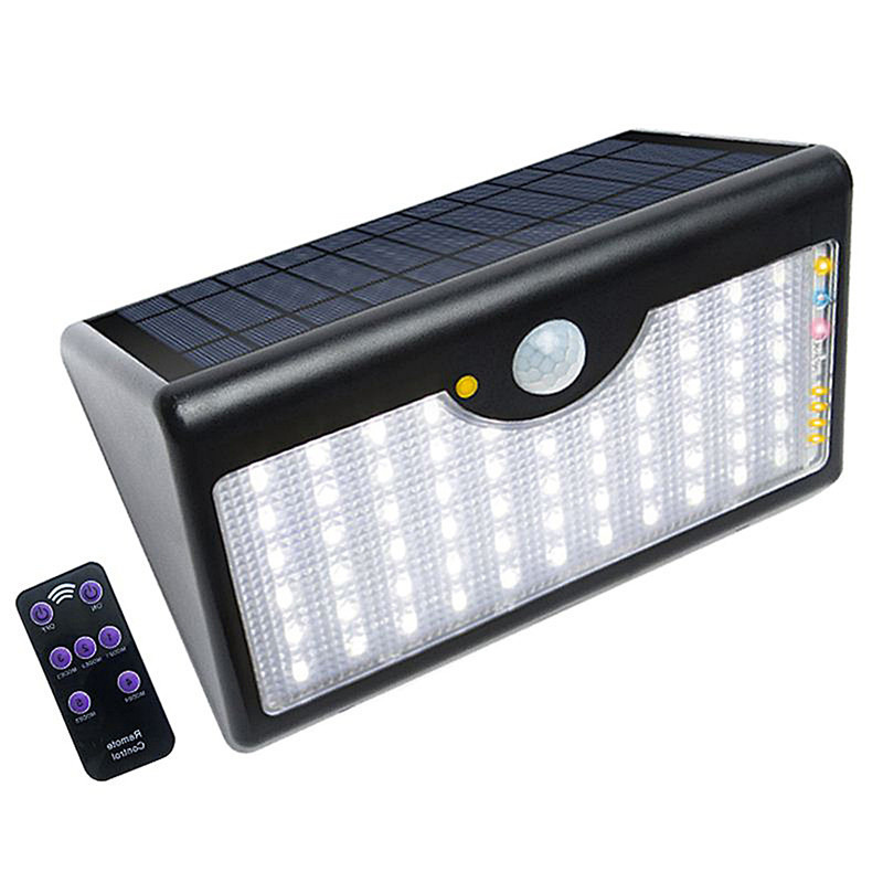 LAIDEYI 60 LED 5 Modes LED Wall Light Outdoor Street Lighting Solar Lamps Remote Control Infrared PIR Waterproof Light LAIDEYI 60 LED 5 Modes LED Wall Light Outdoor Street Lighting Solar Lamps Remote Control Infrared PIR Waterproof Light