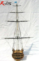 RealTS Classics sailboat model USS.Constitution (section) 1794 wooden ship model