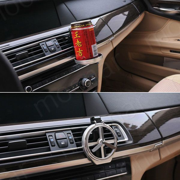 2017 Universal Folding Air Conditioning Inlet Auto Car Drink Holder Car Beverage Bottle Cup Car Frame for Truck Van Drink