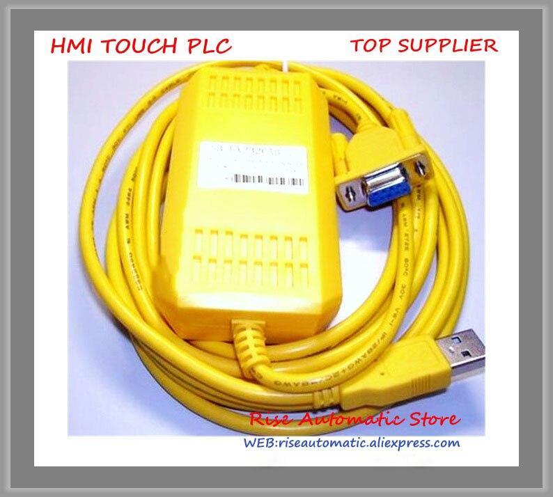 USB-FX-232CAB-1 PLC Cable 3M USB Connecting F940/F930 HMI New Original new original dvpacab7a10 delta plc i o extension cable for connecting external terminal modules page 1