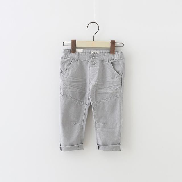 Novo 2017 Primavera do bebê calças do menino 100% algodão calças Recém-nascidos do bebê meninas Infantis Casuais calças compridas Melhor Qualidade roupas de bebe